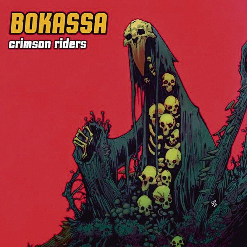 cover crimson riders du groupe bokassa