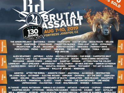 brutal assault affiche jours de passage 2019