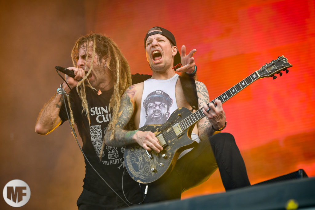 Lamb of God sur la scène du Hellfest Open Air 2019