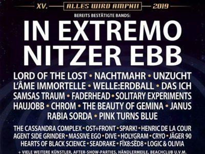 Affiche de l'Amphi Festival 2019 à Cologne