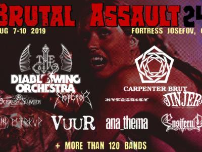 brutal assault 24 - affiche personnalisée