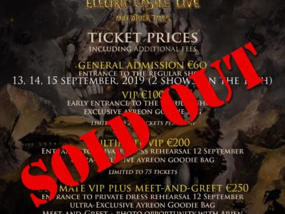 ayreon concert into the electric castle 2019
