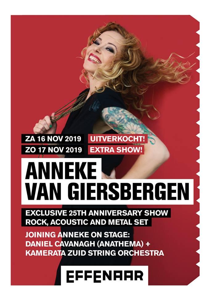 anneke van giersbergen - concert à Eindhoven 2019