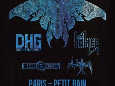 Affiche du Concert de Dødheimsgard, Bölzer, Blaze Of Perdition, Matterhorn au petit Bain à paris