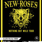 Affiche THE NEW ROSES à Lyon