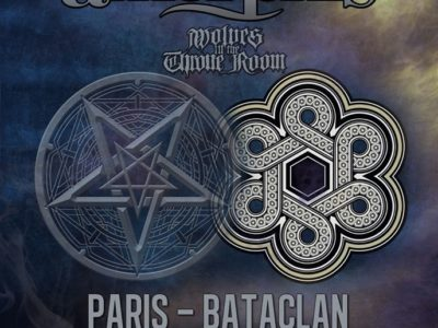 Concert de Dimmu Borgir, Amorphis, Wolves in The Throne Room au Bataclan à Paris