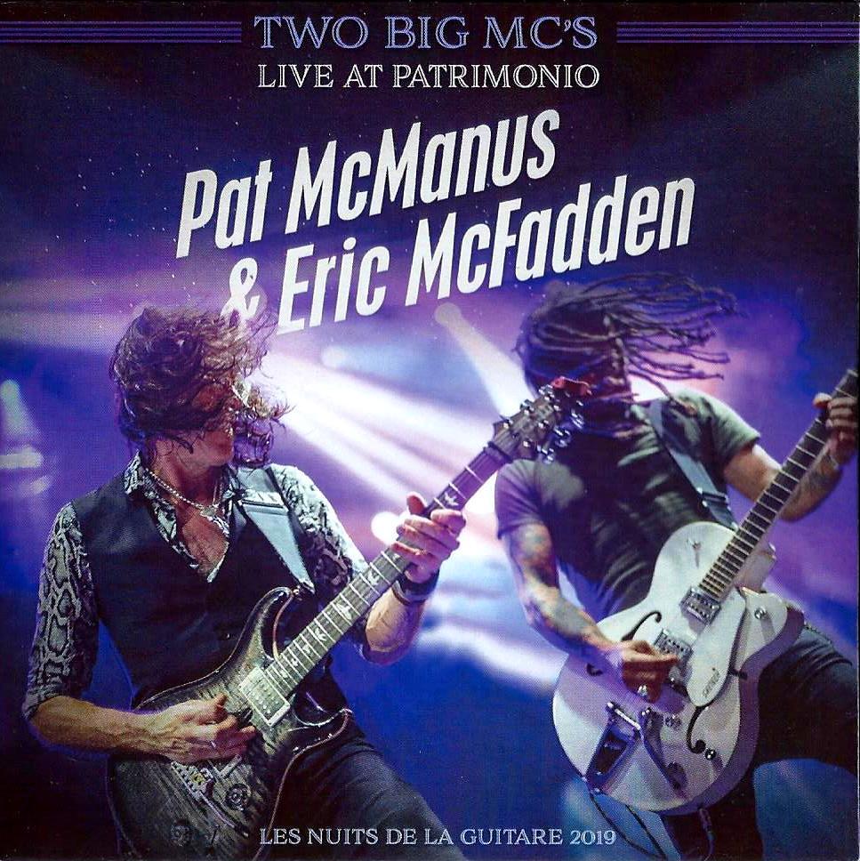Two Big Mc's Live At Patrimonio par PAT MCMANUS ET ERIC MCFADDEN