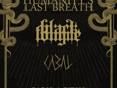Concert de Humanity's last breath, Black Tongue, Cabal au gibus à Paris