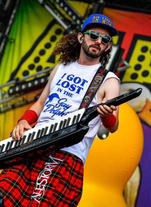 Alestorm au Download Festival Paris le 15 juin 2018