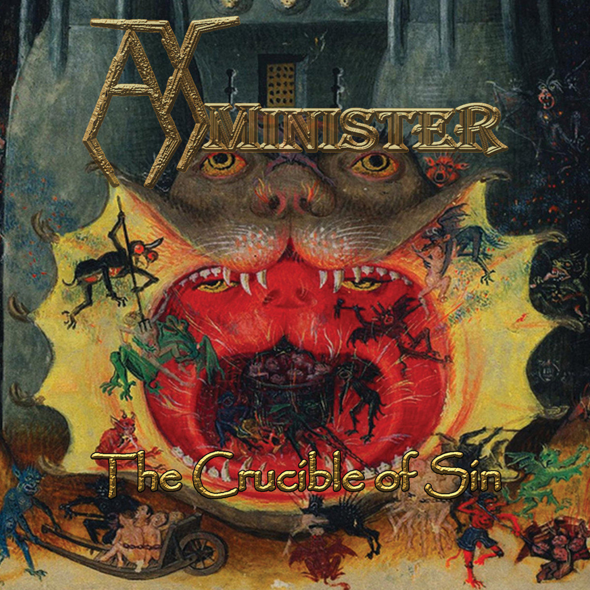 the crcible of sin du groupe Axminister
