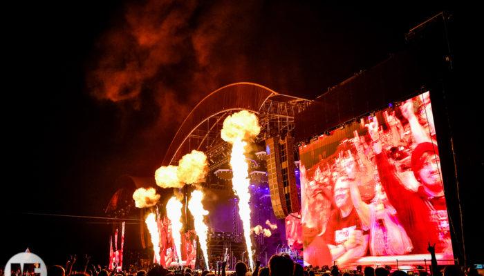 Kiss sur la scène du Hellfest Open Air 2019
