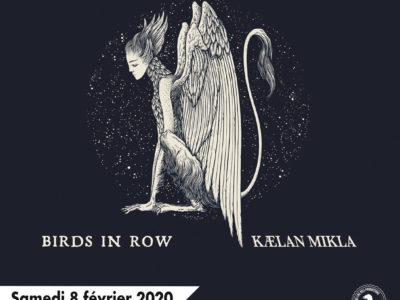 Affiche du concert de Alcest à Lyon en 2020