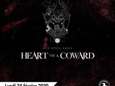 MONUMENTS et HEART OF A COWARD à Lyon en 2020
