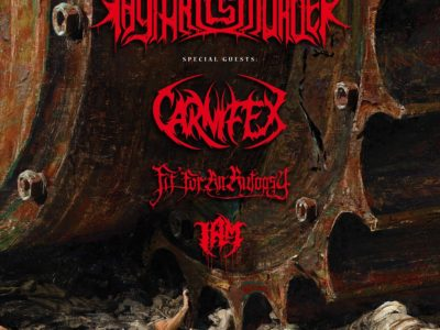 THY ART IS MURDER affiche concert Lyon 2020